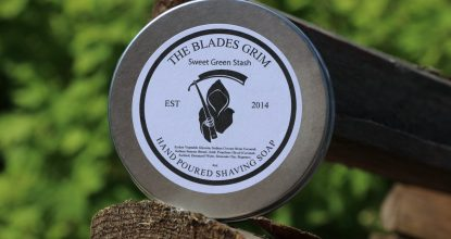 The Blades Grim Soap — Sweet Green Stash