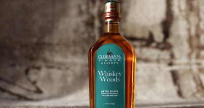 After Shave Clubman — Whiskey Woods, 177мл.